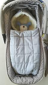 Textil - RUNO SHOP fusak pre deti do kočíka 100% ovčie runo MERINO TOP super wash ELEGANT Rainbow MINT Mentolová - 9974405_