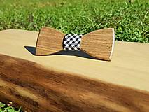 Doplnky - Drevený motýlik - 9973669_