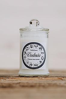 Svietidlá a sviečky - Sójová sviečka - Aromaterapia - Vodnár - 9971182_