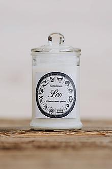 Svietidlá a sviečky - Sójová sviečka - Aromaterapia - Lev - 9971208_