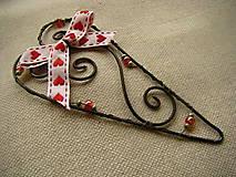Dekorácie - Srdečné srdce - 9971180_