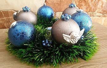 Dekorácie - Vianočný veniec - adventný ( Anjel ) - 9974058_