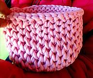 Dobrý obchod -  Košík veľkosť M baby pink - 9973763_