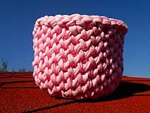 Dobrý obchod -  Košík veľkosť M baby pink - 9973772_