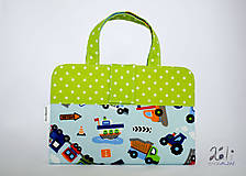 Detské tašky - Detský kufrík - pastelkovník Dopravné prostriedky - 9971317_