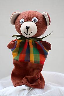 Hračky - Maňuška. Zvieratko Medvedík Pú - 9971909_