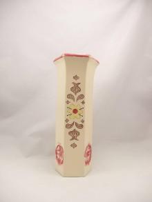 Dekorácie - Váza veľká B (Vaza 6hran vzor 9) - 9974800_