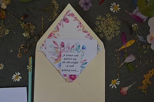 Pohľadnica - Spoločný život