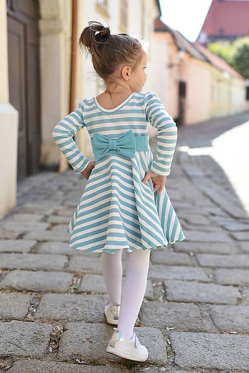 b2cc1640dc58 Točivé šaty SOFT BLUE (134 140)   evenstyle - SAShE.sk - Handmade ...
