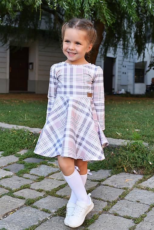 8e9838c5d70a Točivé šaty KARO   evenstyle - SAShE.sk - Handmade Detské oblečenie