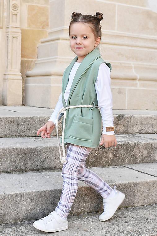 Detské oblečenie - Vesta MINT - 9971187_