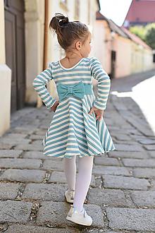 Detské oblečenie - Točivé šaty SOFT BLUE - 9971116_