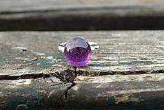Rubín prsteň Ag 925