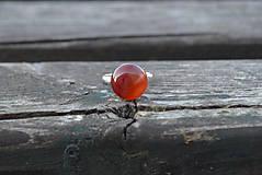 Prstene - Achát prsteň Ag 925 - 9972979_