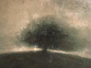 Obrazy - Strom na kopci - 9971266_
