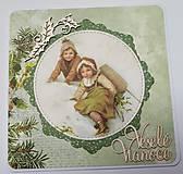 Papiernictvo - Vianočná pohľadnica - 9974134_