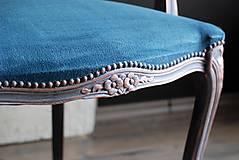 Nábytok - Kreslo Blue Copper - 9975201_
