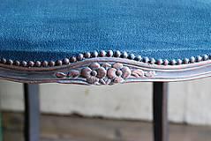 Nábytok - Kreslo Blue Copper - 9975204_