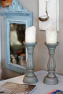 Svietidlá a sviečky - Svietniky Egg Blue - 9975064_