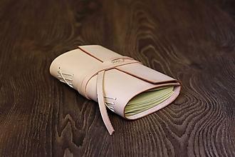 Papiernictvo - Kožený zápisník - Berkeley - 9972757_