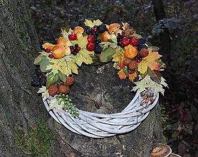 Dekorácie - Jesenný venček - 9977553_