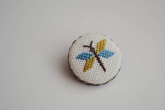 Odznaky/Brošne - brošňa vážka - 9976924_