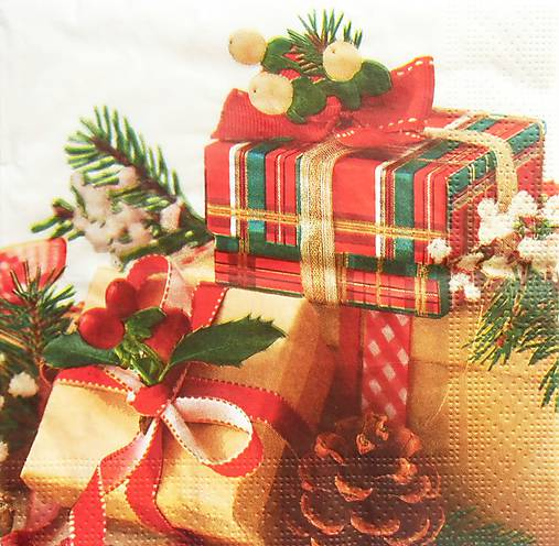 db34d7083b S1302 - Servítky - Vianoce