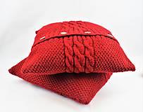 Úžitkový textil - Sveter pre vankúš pletený - 9977264_