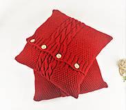 Úžitkový textil - Sveter pre vankúš pletený - 9977265_