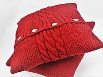 Úžitkový textil - Sveter pre vankúš pletený - 9977266_