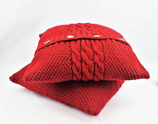 Sveter pre vankúš pletený