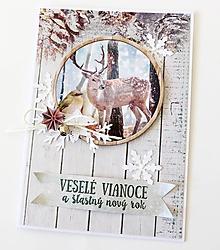 Papiernictvo - pohľadnica vianočná - 9975360_