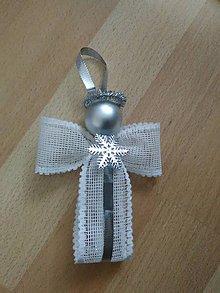 Dekorácie - Vianočné Anjeli - 9976567_