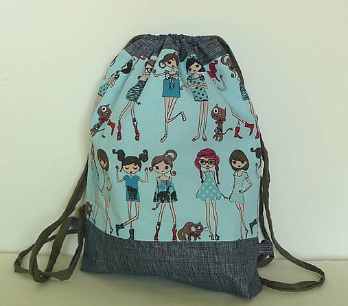 6cd209481 Detský ruksak, batoh, vak... Dievčatá veľ.M / LEAN - SAShE.sk ...