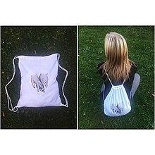 Batohy - Maľovaný vak na chrbát - 9975803_