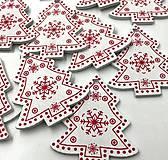 Polotovary - VY112 Výrez vianočný STROMČEK 5 cm - 9977730_