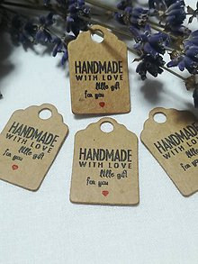 Papier - Visačka Handmade 2 - 9977876_