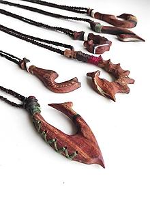 Náhrdelníky - Prívesok Polynesian - 9977542_