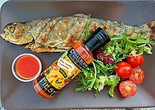 Potraviny - FIESTA 🔥🔥🔥 Extra pálivá Chilli omáčka s marhuľami - 9977263_