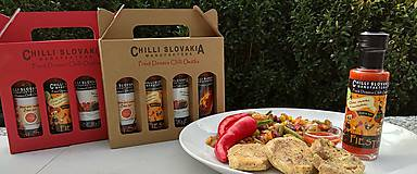 Potraviny - FIESTA 🔥🔥🔥 Extra pálivá Chilli omáčka s marhuľami - 9977310_