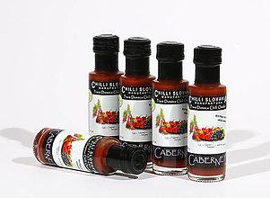 Potraviny - CABERNET 🔥🔥🔥 Extra pálivá Chilli omáčka s hroznom Cabernet Sauvignon - 9977317_
