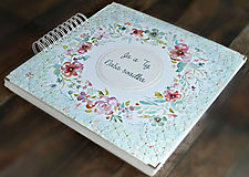 Papiernictvo - Luxusný XXXL svadobný album - Púdrové objatie - 9975836_