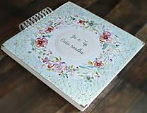 Papiernictvo - Luxusný XXXL svadobný album - Púdrové objatie - 9975841_