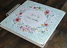 Papiernictvo - Luxusný XXXL svadobný album - Púdrové objatie - 9975845_