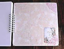 Papiernictvo - Luxusný XXXL svadobný album - Púdrové objatie - 9975868_