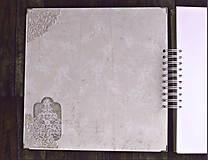 Papiernictvo - Luxusný XXXL svadobný album - Púdrové objatie - 9975886_