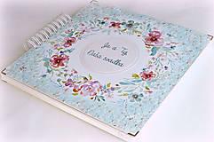 Papiernictvo - Luxusný XXXL svadobný album - Púdrové objatie - 9975926_