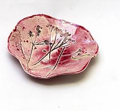 Nádoby - miska ružová príroda - 9976372_