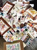 Kurzy - WORKSHOP akvarelovej maľby, úvodný kurz - 9977033_
