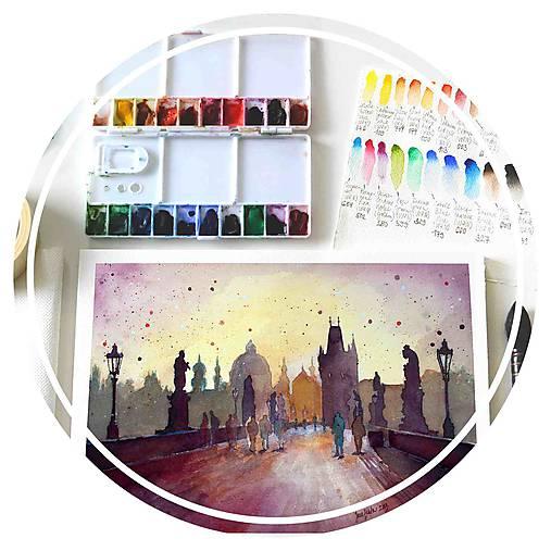 WORKSHOP akvarelovej maľby, Mestské motívy